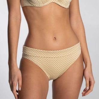 Cyell Swim Sparkles Gold bikini rioslip