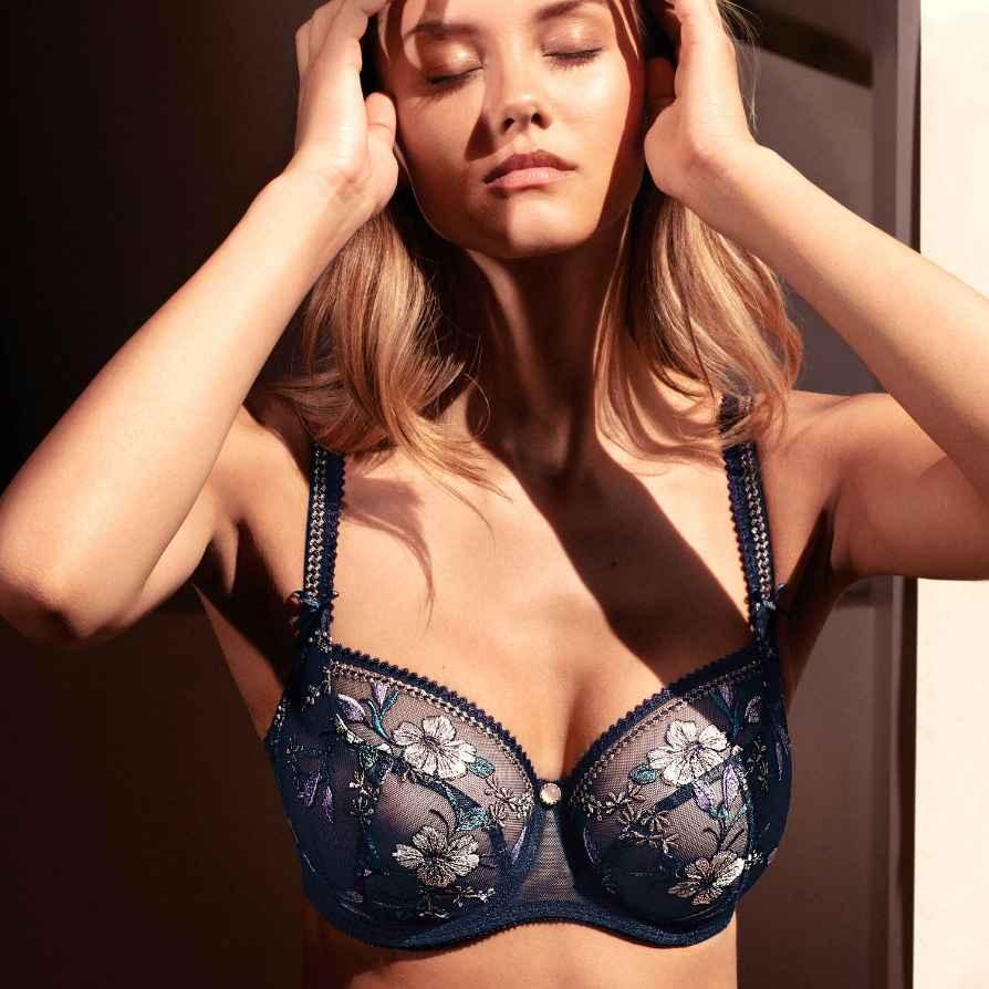 Empreinte Carmen in Bleu Irisé